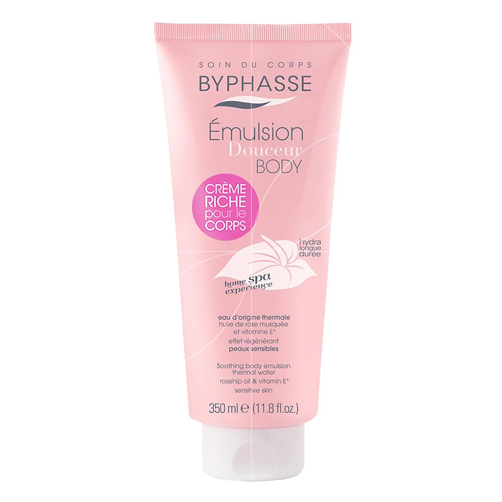 Byphasse - Home Spa Experience - Emulsion Douceur Corps Peaux sensibles - 350ml