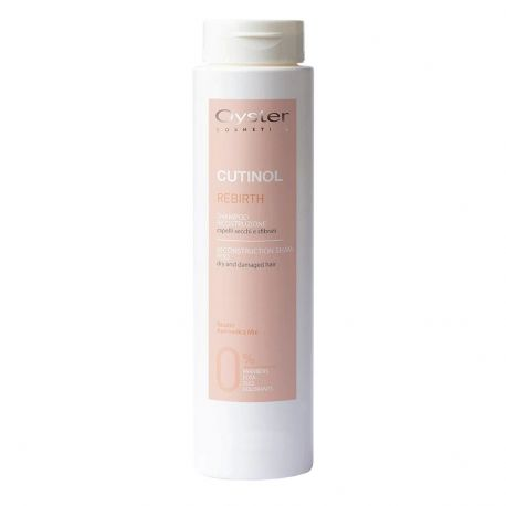 Oyster Cutinol Rebirth - Shampooing reconstruction Cheveux secs - 1Litre