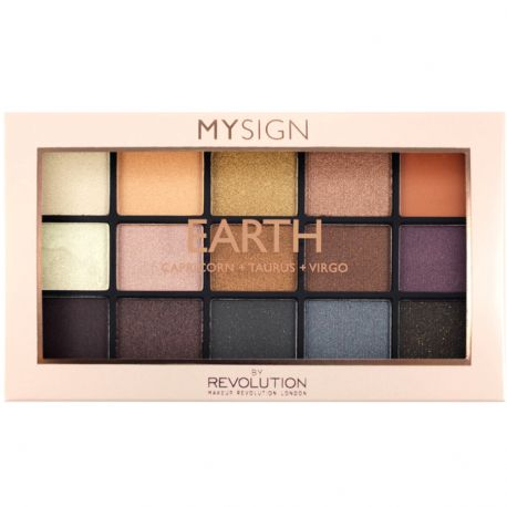 Revolution - Palette Yeux Earth 9 fards