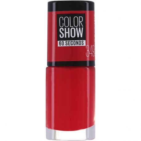 Maybelline - Color show Vernis à ongles n°349 Power Red - 6,7ml