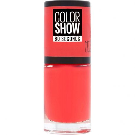 Maybelline - Color show Vernis à ongles n°110 Urban Coral - 6,7ml