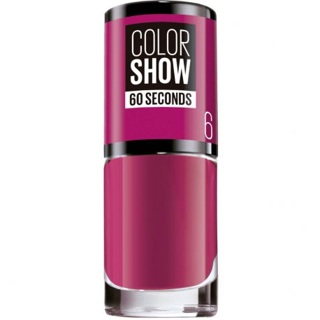 Maybelline - Color show Vernis à ongles n°6 Bubblicious - 7ml
