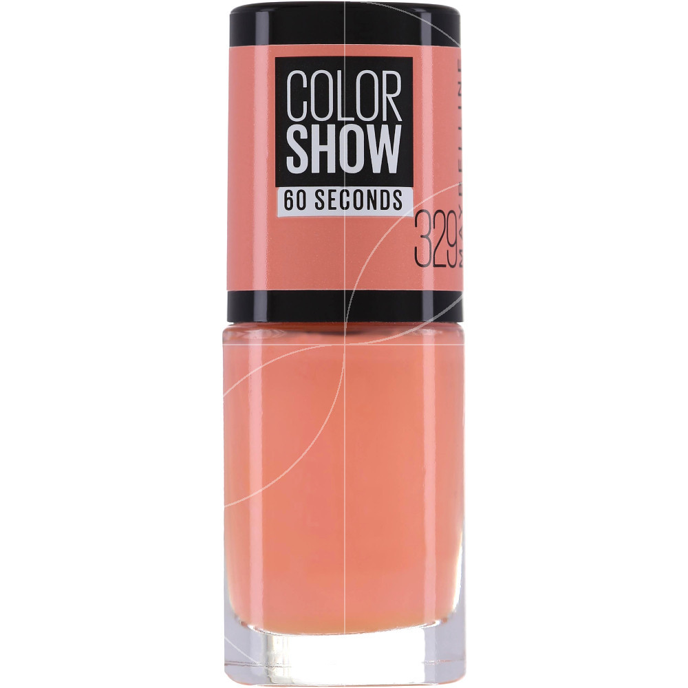 Maybelline - Color show Vernis à ongles n°329 Canal Street Coral - 7ml