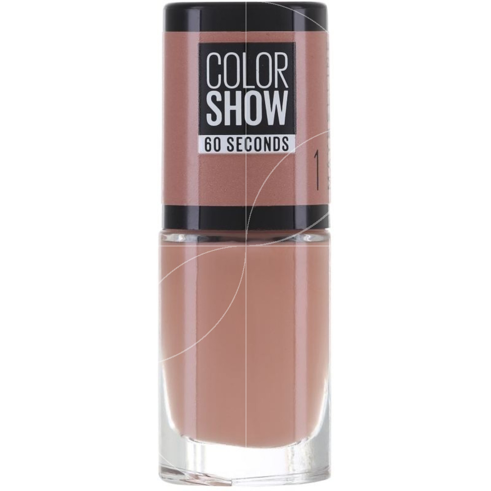 Maybelline - Color show Vernis à ongles n°1 Go Barre - 7ml