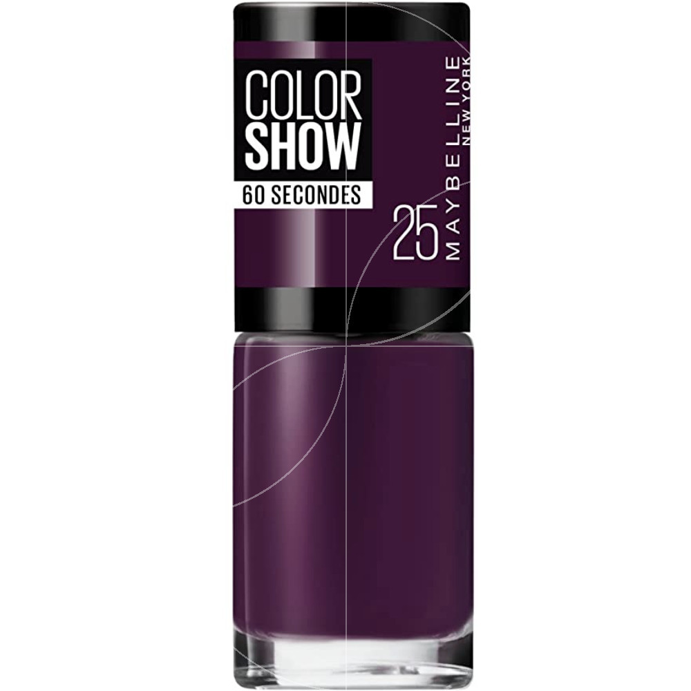 Maybelline - Color show Vernis à ongles n°25 Plum It Up - 7ml