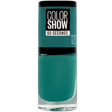 Maybelline - Color show Vernis à ongles n°120 Urban Turquoise - 7ml