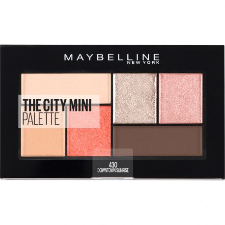 Maybelline - The city mini palette - 430 Downtown Sunrise - 6g