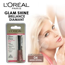Gloss Glam Shine brillance diamant - 6ml sous blister L'Oréal