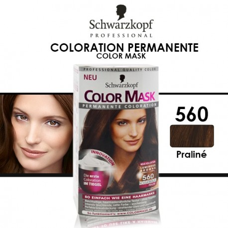 Schwarzkopf - Coloration Permanente Color Mask - 560 Praliné