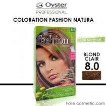 OYSTER - Coloration Fashion Natura - 8.0 Blond Clair